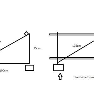 Konstrukcja do paneli fotowoltaicznych na grunt