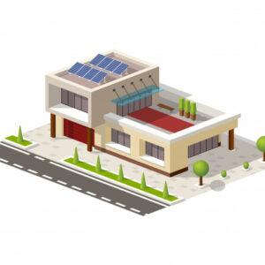 Elektrownie na płaski dach